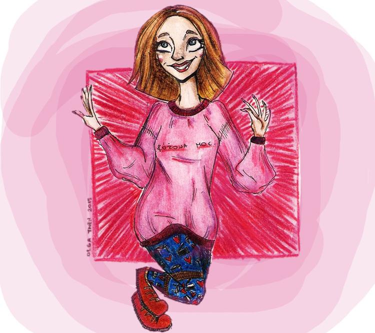 Olga Then Grafika młodzi ludzie 3
