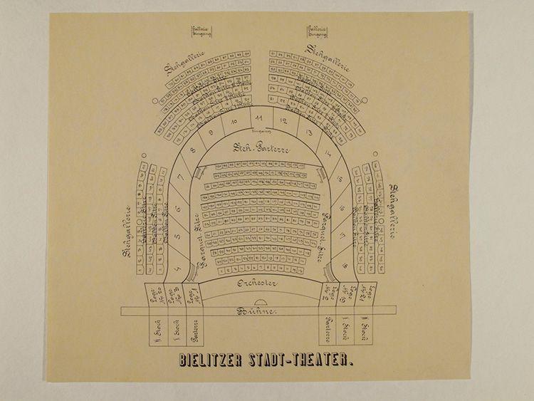plan widowni -XIX wiek gotowy